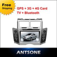 Wholesale 6 inch touch screen TOYOTA YARIS car DVD with GPS Radio Ipod bluetooth digital TV optional