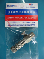 Wholesale Taiwan Airbrush regulator connector rapid loading and unloading functions can adjust the size of the air pressure air volume
