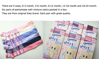 Wholesale Newborn Tights Infant Baby Tights Pink Striped Pattern White Striped Design Kid Pantyhose Children s Pantyhose Mix Color Five Size Choose
