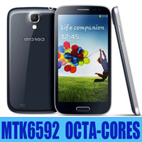 Best MTK6592 Octa Core Star S4 i9500 Ulefone U9592 Android 4.2 5.0 inch 2GB RAM WiFi GPS Dual Camera S5 Unlocked 3G Smart Mobile Cell Phone