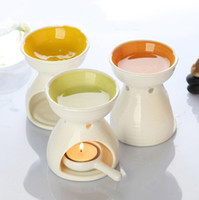 home fragrance oil - Dia Height cm Color Ceramic Fragrance Oil Burner Essential Oil Furnace Air Freshener Containers DC813