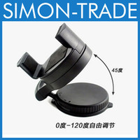 Wholesale Universal Car Holder Plastic Cell Phone Car Mount Adjustable Width Windshield Cradle for all Cell Phone iphone S S