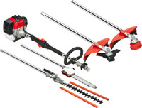 Wholesale 9 in Multi brush cutter hedge trimmer tree pruner several blades bump feed head