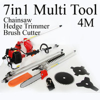 Wholesale multi brush cutter pole chain saw pole trimmer several baldes extsion CC
