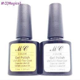 Wholesale Amazing soak off led uv gel nail polish manicure set professional salon nail gel art varnish uv gel primer base foundation top coat gel