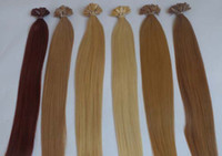 ash blonde colour - 20inch cm Flat Tip Keratin Hair Extensions Human Indian Hair Ash Blonde colour g s g s pack AAA Grade