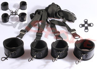 Wholesale multi function restraint kits Under the bed Restraints amp hog tie restraint hot sale S amp M Sexy drop shipping Christmas gift