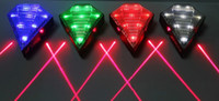 bicycle laser lane - Diamond Jewel Cycling Bicycle Bike Laser Beam Lane Chargeable Mode LED Laser Waterproof Flashlight LED Tail Light