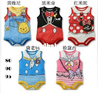 Cheap Wholesale - Free shipping! 2013 summer cute children's clothing boy baby newborn bodysuit kids clothes Retail