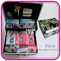 Wholesale New Pro Hight Quality Hot Style False Eyelash Eye Lash Extension Kit Glue Gift Full Set With Case Makeup Tool
