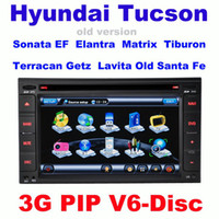Best Car dvd for For hyundai old cars tucson Elantra Sonata Old Santa Fe Terracan Getz Matrix Tiburon Lavita sonata with 3G GPS PIP