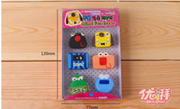 China (Mainland) animal eraser set - Cute cartoon Animal Eraser patterns Eraser new style school eraser Stationery set