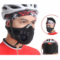 Masks anti pollution mask - Anti pollution City Cycling Mask Mouth Muffle Dust Mask Bicycle Sports Protect Road cycling mask face cover Protection