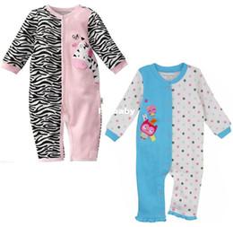 Descuento primeros momentos la ropa del bebé Al por mayor - Primeros Momentos más nuevo bebé Pijamas mamelucos recién nacido Mono de una sola pieza del mameluco del niño del mono Babywear Trajes de ropa de bebé W116