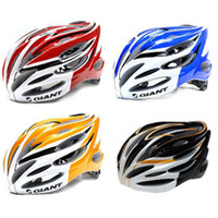 Wholesale High Quality GIANT Unicase Bicycle PVC Helmet Safety Cycling Helmet Bike Head Protect custom bicycle helmets MTB