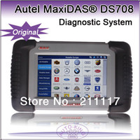 Wholesale 100 original latest version Autel MaxiDas DS708 scan tool auto diagnostic scanner online updating