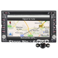 Cheap 2 Din Car DVD With LCD Touch Screen +GPS NAVI +MP3 Music +CD Player+ Bluetooth+800 MHz Win Ce+Free Backup Rear view Camera