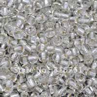 Bead Caps Fashion Beads Free Shipping 100 Gram Clear Glass Seed Beads 4mm Jewelry Making Findings (W01948X 1)
