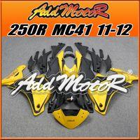 Wholesale Addmotor ABS Plastic Fairings For Honda CBR R CBR250R CBR R MC41 Body Kit Yellow Black H2535 Free Gifts