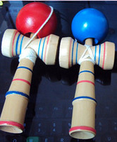 Wholesale 500pc Funny Japanese Traditional Wood Game Toy Kendama Ball Education Gift New Small J140