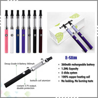 Wholesale Hot Products E Slim Electronic Cigarette New Ecig E Slim kit with factory price