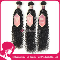 Deep Wave Malaysian Hair machine 5A Curly Deep Wave Malaysian Virgin Hair Untreated Raw Malaysian Human Hair Weave Nautal color 3pcs lot
