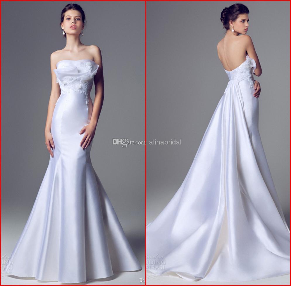 Wedding Dresses Backless Strapless - Wedding Dress Maker