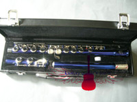 Wholesale New Arrival Advanced Blue Flute With hard case