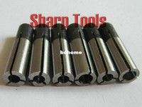 Wholesale High accuracy power collet chuck adapter for tools bits and cnc router parts could mix in different size
