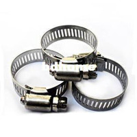band hose - Freeshipping mm band width mm range American type stainless steel hose clamp