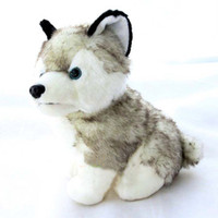 Wholesale Retail husky dog plush toys stuffed animals toys hobbies inch cm