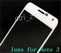 Wholesale For Galaxy Note Front Outer Screen Glass Lens Touch Screen Cover Replacement Black and White For Samsung Galaxy Note III N9000