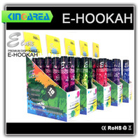 Best High quality disposable e cigarette E hookah with different designs and 500puffs e hookah pen