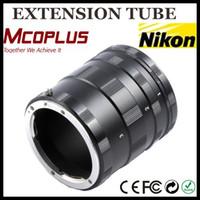 ai settings - Metal Macro Extension Tube Set Adapter Ring For Ai DSLR SLR Camera Nikon D7100 D3100 D5100 D90 D3000 D5000 D7000 D60 D5200 D3200 D300s