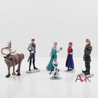 50sets lot Free Shipping Frozen Anna Elsa Hans Kristoff Sven...