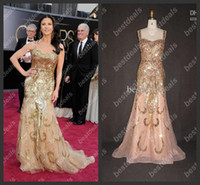 catherine zeta jones oscar Red Carpet dresses 2014 Sequins b...