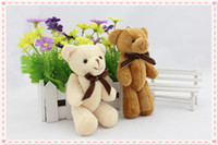 Cheap 15cm Height,Stuffed Bear with Bow Tie,15cm Small Teddy Bears,Super Quality Competitive Price Stuffed Animal Doll Toy,Plush Bear