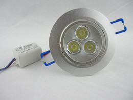 AC110 or AC220V 3W LED Dimmalbe Down Light,Led Ceiling Light with Warm White Cool White