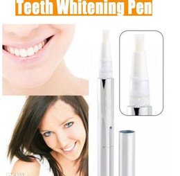 Wholesale New Teeth Whitening Tooth Whitener Gel Pen Tooth Whitening Teeth Whiten Pen Soft Brush Applicator White BrightTeeth Free Ship DHL