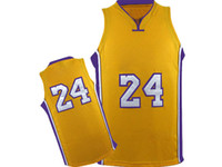 Wholesale New Arrival Lakers Bryant Jerseys Yellow Player Uniform Brand Men Basketball Jerseys Embroidered Name and Logo Basjetball Wears On Sale