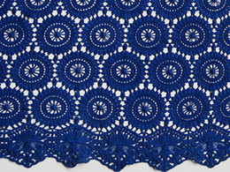 Wholesale Big Heavy Plain Green Royal Blue Beige Red Cotton French Lace Swiss Voile Lace African Lace Fabric