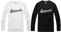 Free shipping cotton tshirt brand long sleeve t-shirt J.COLE t shirt Dreamville tee 100% cotton 6 color chinese size: S-XXXL