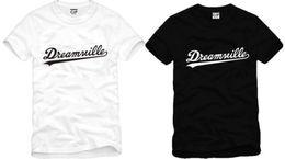 Wholesale high quality cotton tee new sale DREAMVILLE J COLE LOGO printed t shirt hip hop tee shirts cotton color