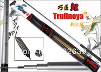 Ultra Light Under 6 Feet Carbon 6.3m Trulinoya Telescopic Fishing Pole Carp Pole Fishing Rod