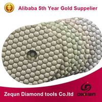 Wholesale 4 inch mm granite diamond dry polishing pads with marble and stone dry plishing pad diamond polish pads concrete
