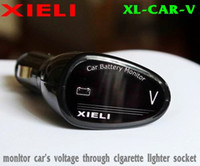 Wholesale car cigarette lighter voltmeter