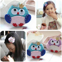 best girls clips - Best selling Multicolor hairpin Cartoon owl Hair Clips Kids girl Hair Accessories K0340