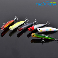 Wholesale Vivid Popper Fishing Lures Stereoscopic Fishing Hard Baits with VMC Hooks Magnet Design Inside New Arrivals Hot Sale DW17