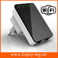 Wholesale NEW Upgrade Wireless N Wifi Repeater N G B Network Router Range Expander Signal Booster Mbps Outdoors m Indoor m