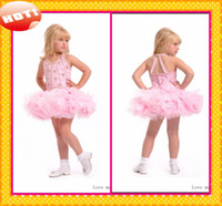 Reference Images Girl Beads 2014 New Arrival Little Girls Baby Pink Perfect Angles Ball Gown Girls Pageant Dresses Fashion Halter New Sequins Beading Girls Formal Gowns